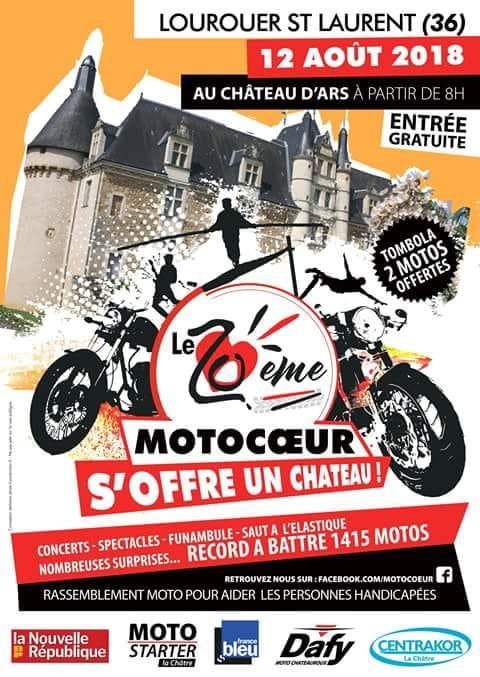 Le MCP sera au 20è Motocoeur
