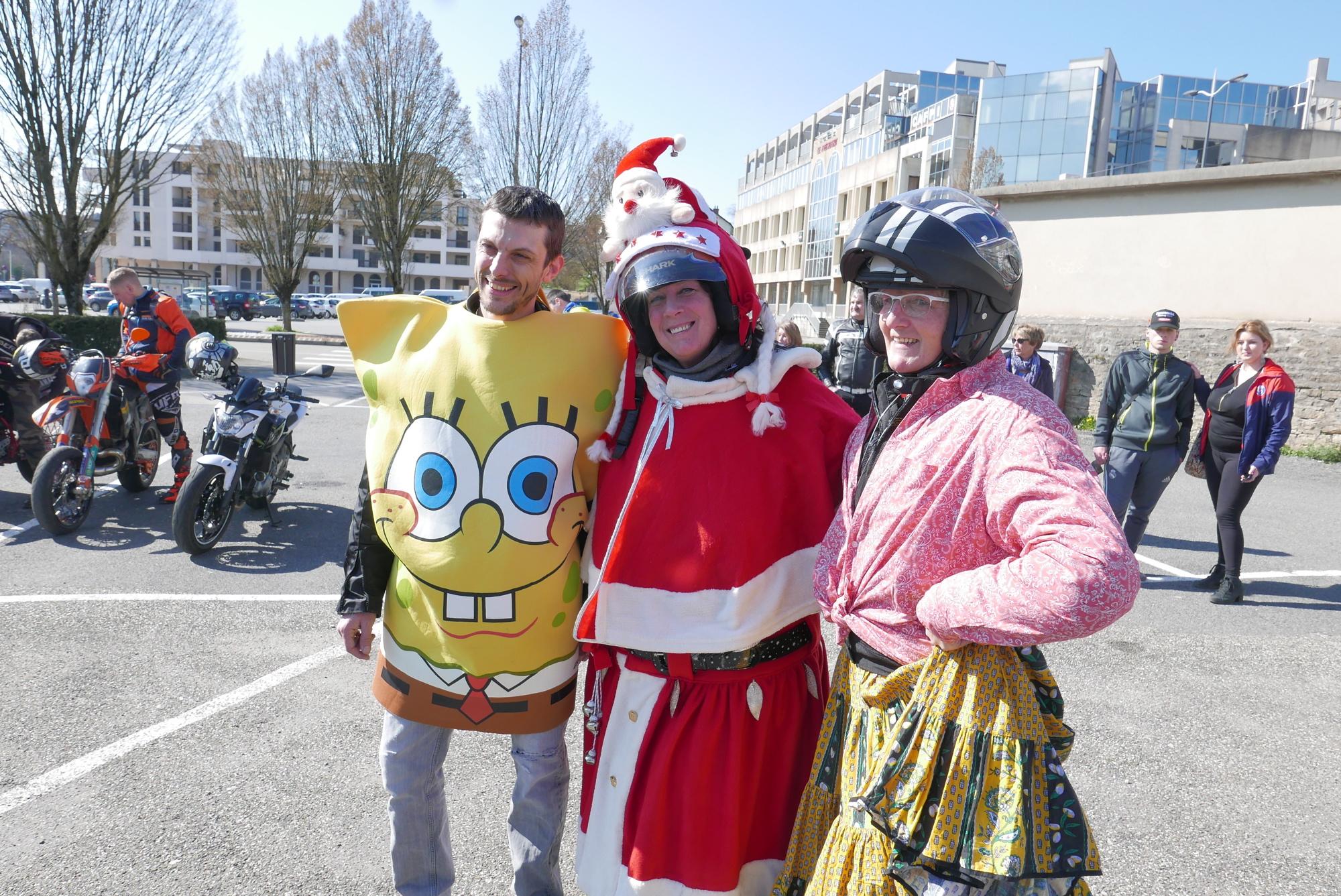 Carnaval des motards, samedi 23 mars : une belle balade et du soleil au programme