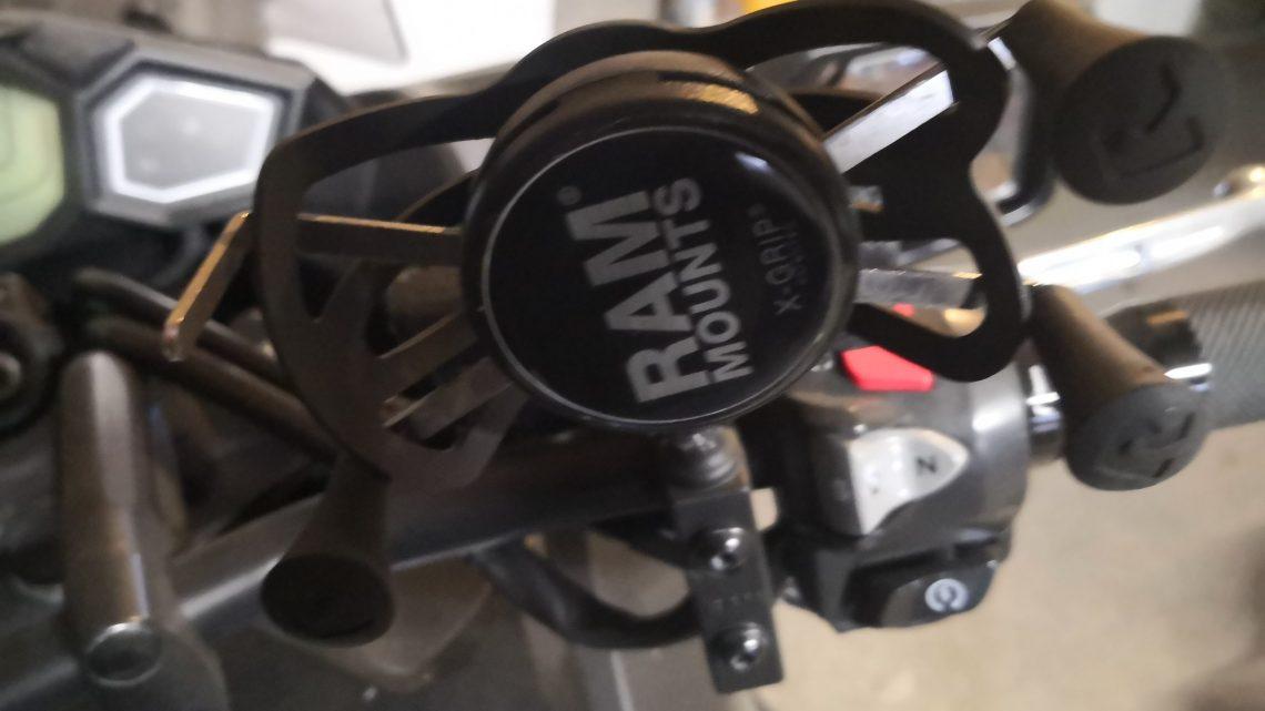 Essai. Support de téléphone RAM X-Grip Phone Mount