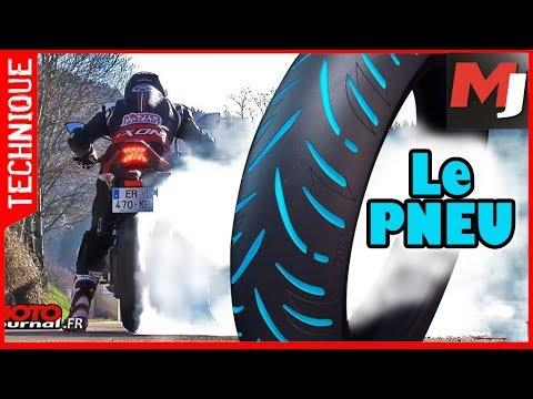 Comment ça marche : le pneu moto