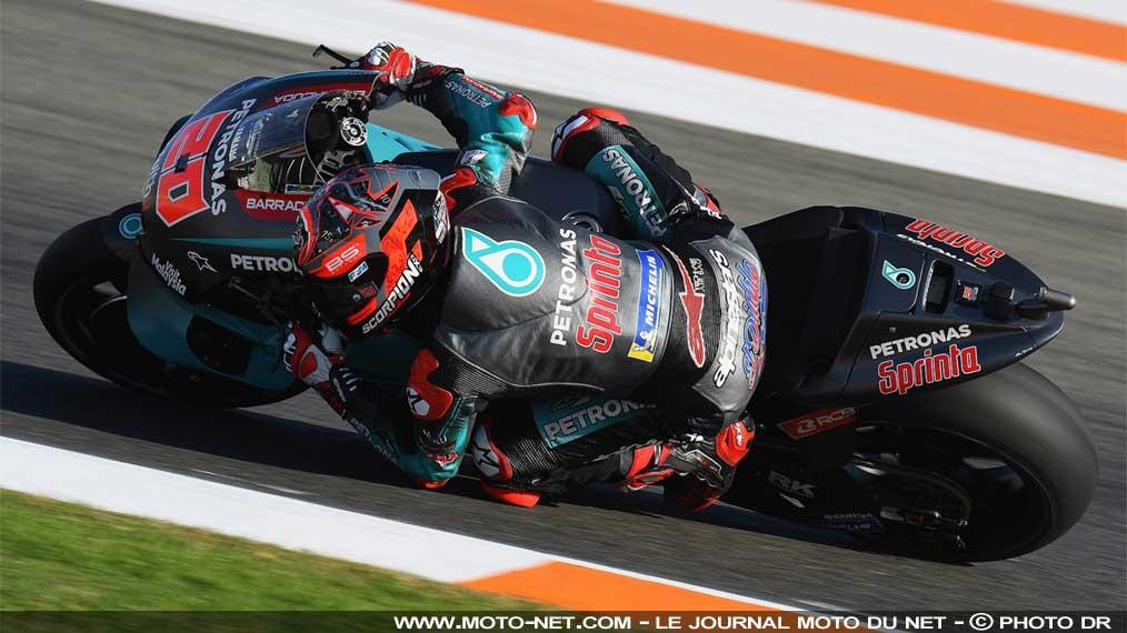 El Diablo s'élance en tête du GP de Valence!!!