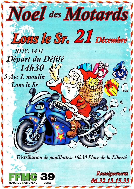 Pères Noël de la FFMC 39 samedi 21 décembre 2019