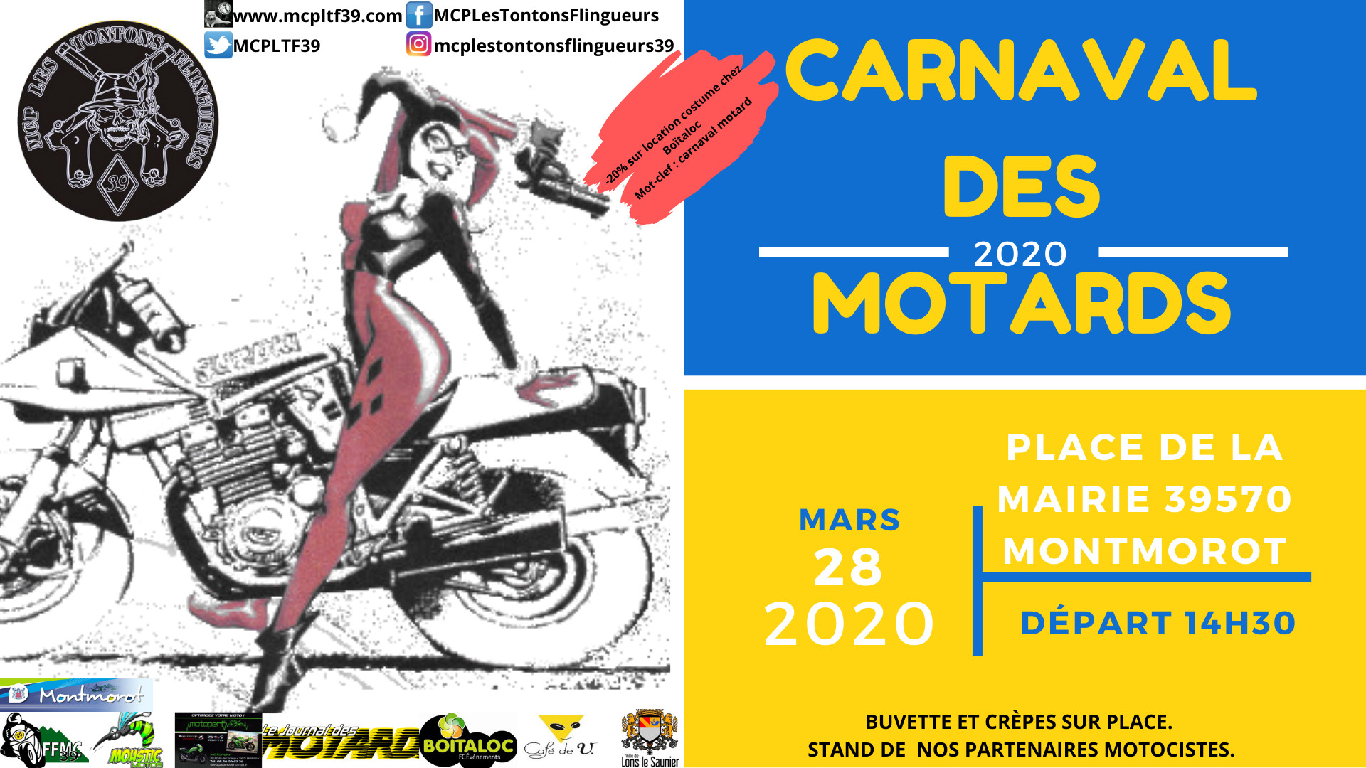 Carnaval des Motards 2020