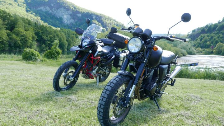 Essai : motos SWM Superdual 650 T et 440 « Ace of Spades »