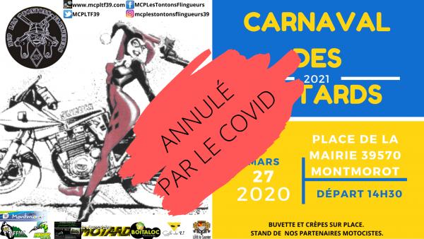 ANNONCE IMPORTANTE! Carnaval annulé par le Covid (encore!!)