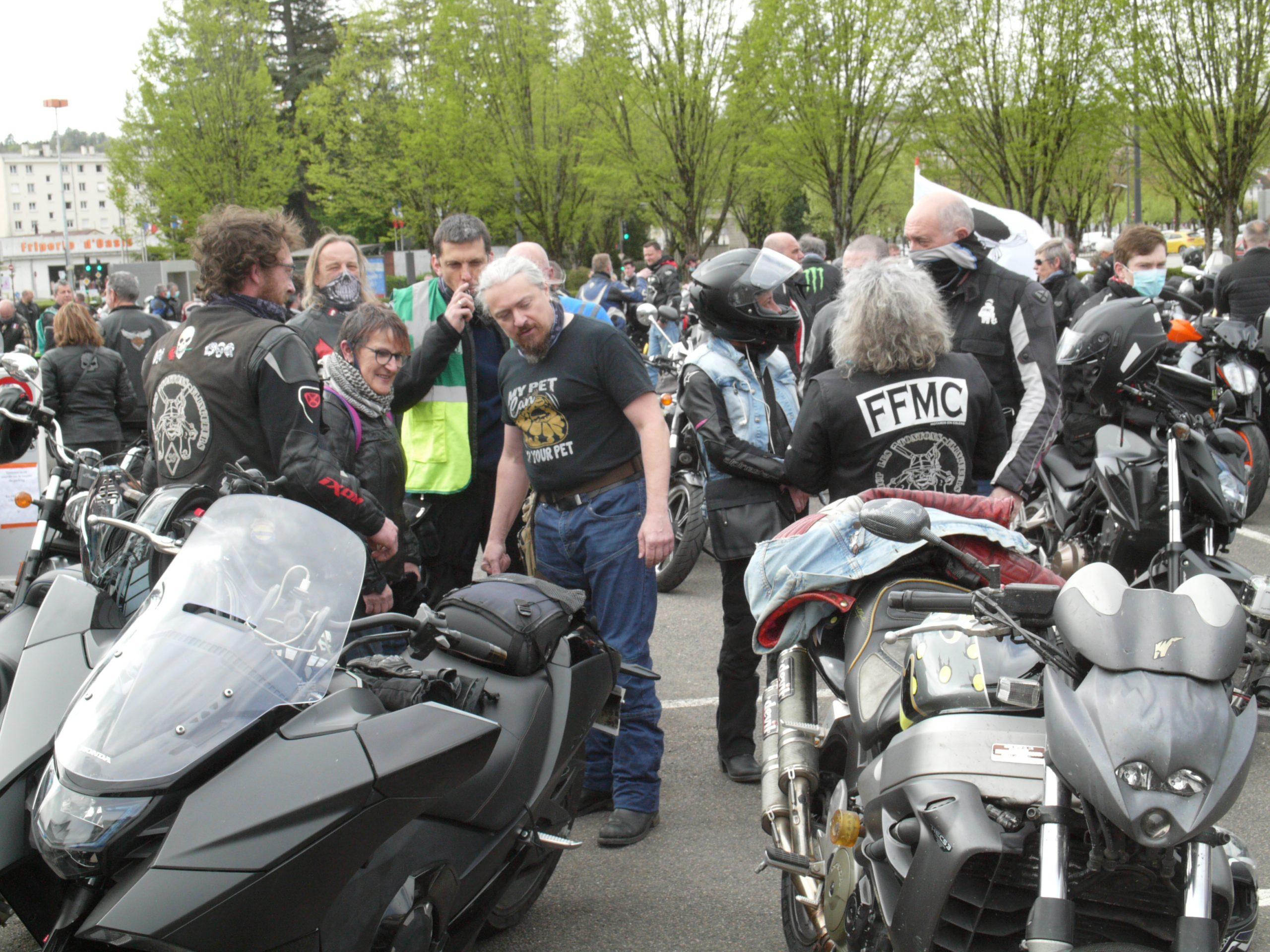 Manifestation contre le Contrôle Technique Moto : le MCP a répondu présent