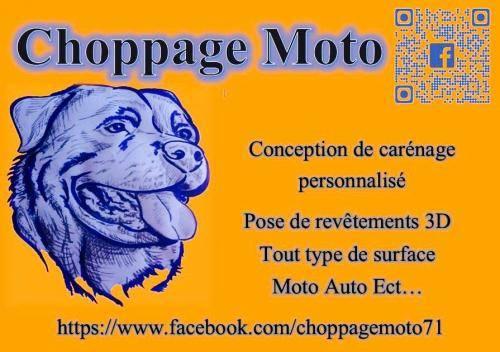 Choppage Moto